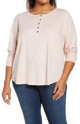 Ribbon Henley Shirt