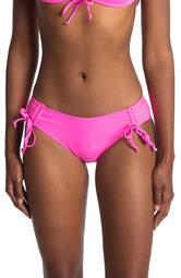 High Leg Cinched Bikini Bottoms