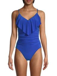 Isabel Ruched One-Piece Swimsuit