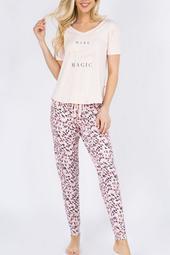 Super-Soft Tshirt Pajama-Set