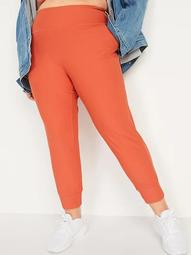 High-Waisted PowerSoft  Plus-Size Crop Joggers