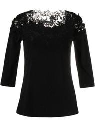 lace-panel top