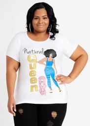 Natural Queen Graphic Tee