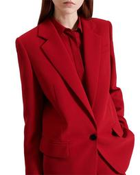 Tailored Crepe Blazer