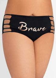 Cotton Cutout Brief Hipster Panty