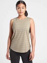 Cloudlight Striped Muscle Tank