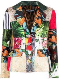Dolce patchwork blazer