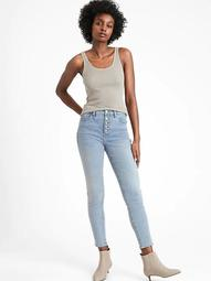 High-Rise Skinny Jean with Button Fly