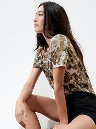Slub Cotton-Modal Boxy T-Shirt