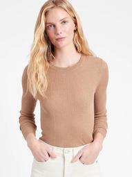 Silk-LENZING™ ECOVERO™ Crew-Neck Sweater