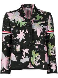 Hawaiian jacquard grosgrain-armband jacket
