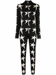 Star II star-intarsia jumpsuit