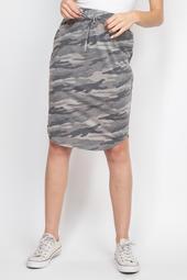Camo-Print-Front-Tie-Pencil-Skirt
