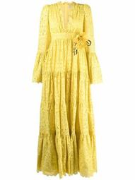 broderie-anglaise maxi dress