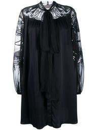 sequin-embellished flared dress