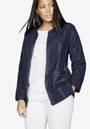 Eyelet Jacket