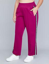 Striped Active Tearaway Pant