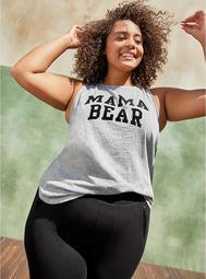 Classic Fit Tank - Mama Bear Grey