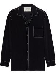 Archive 2 silk shirt