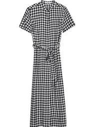Christabella dogtooth-print dress