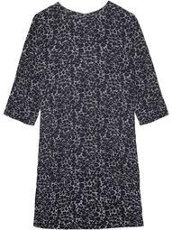 Aubrey silk shift dress