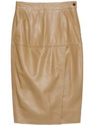Khloelle leather skirt