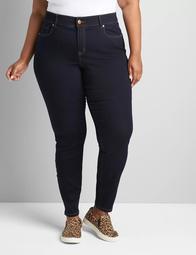 Curvy Fit High-Rise Skinny Jean- Dark Wash