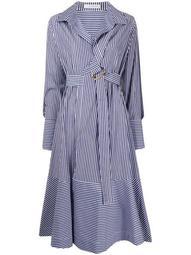 Calli belted shirt dress