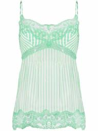 lace embroidered cami top