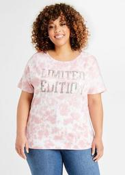 Sequin Tie Dye Limited Edition Tee