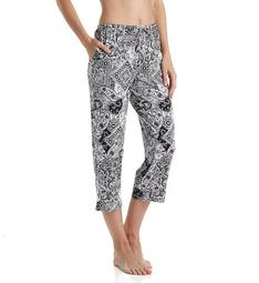 Ellen Tracy Yours to Love Cropped Sleep Pant 8715331