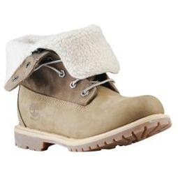 Timberland Teddy Fleece Fold Down Boots - Women's