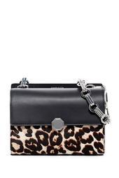 Ivie Chain Genuine Calf Hair Shoulder Bag