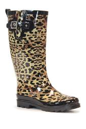 Leopard Exotic Rain Boot