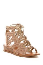 Maygan Ghillie Wedge Sandal