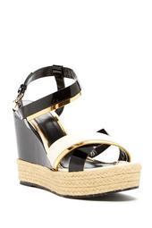 Jute Braid Wedge Sandal