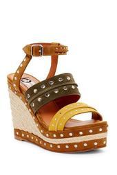 Shia Studded Platform Wedge Sandal