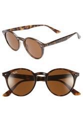 Highstreet 49mm Round Sunglasses