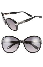 57mm Butterfly Sunglasses