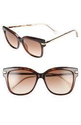 Aras 54mm Cat Eye Sunglasses