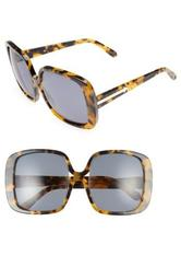 Marques 55mm Square Sunglasses