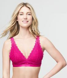 LLD Lace Ladder-Back Bralette