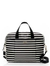 "13"" Classic Nylon Stripe Laptop Commuter Bag"