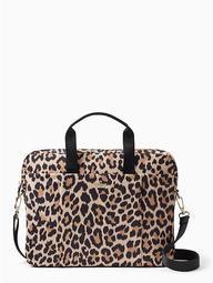 Leopard Laptop Commuter Bag