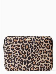 "13"" Leopard Laptop Sleeve"