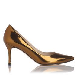 Bianca Gold Metallic Heel