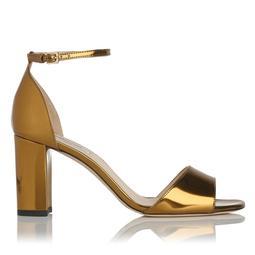 Helena Gold Metallic Sandal