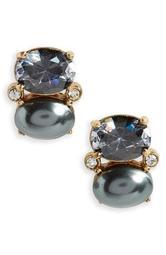 shine on crystal stud earrings