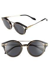 Preston 51mm Gradient Round Sunglasses