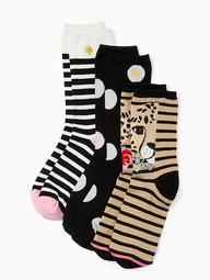 Cheetah Trouser Sock Set